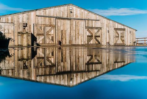 Grange Barn Front Barn