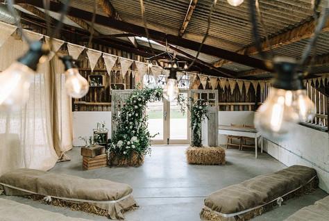 Grange Barn Flower Arch