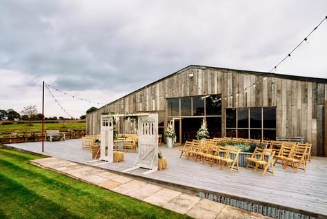 Grange Barn Decking