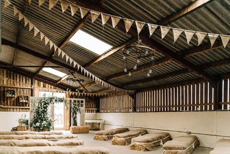 Grange Barn Indoor Ceremony