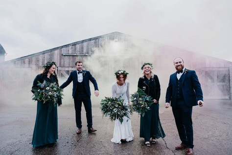 Grange Barn Bridal Prty