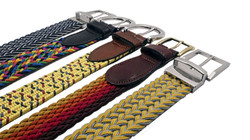 Revisable Buckle Braided Belts