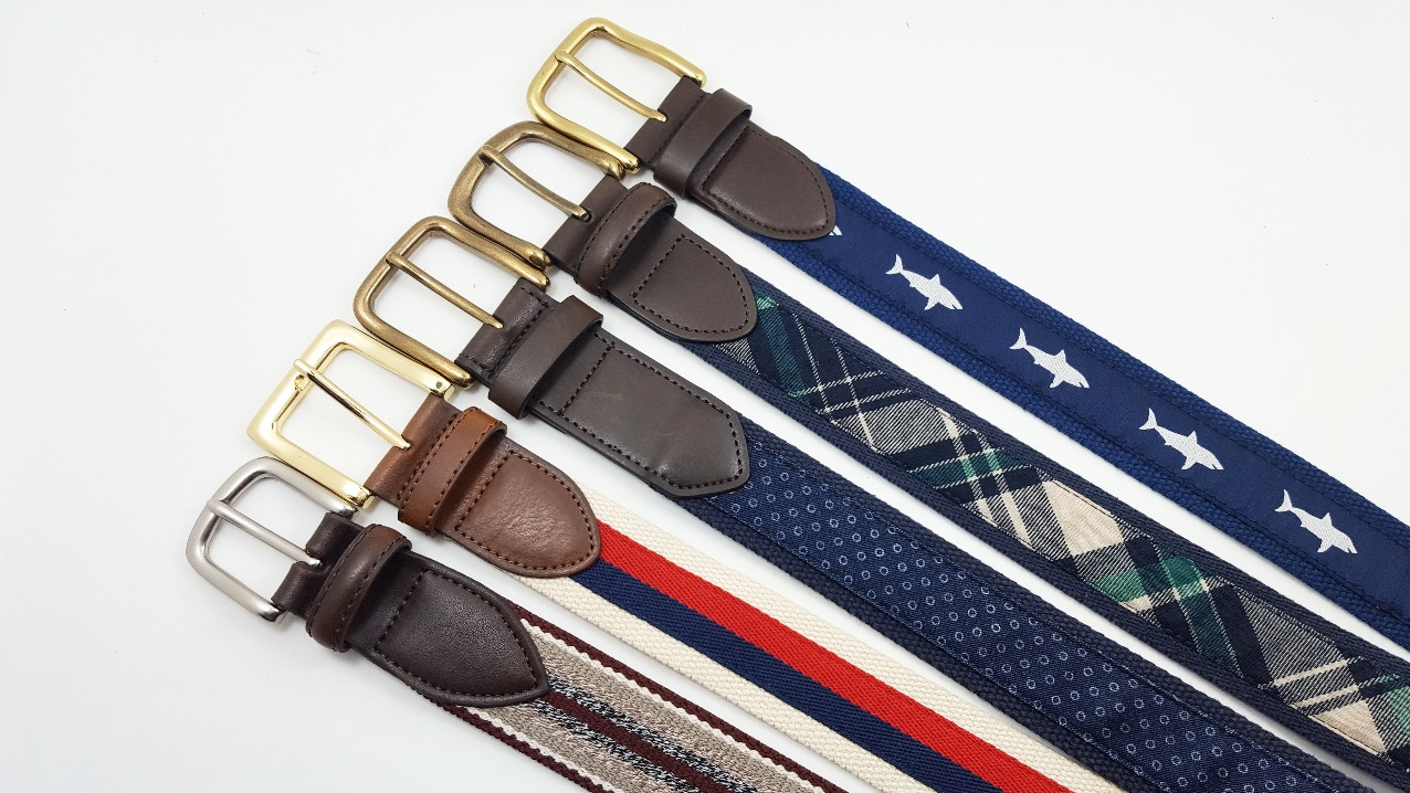 Casual Woven Belts