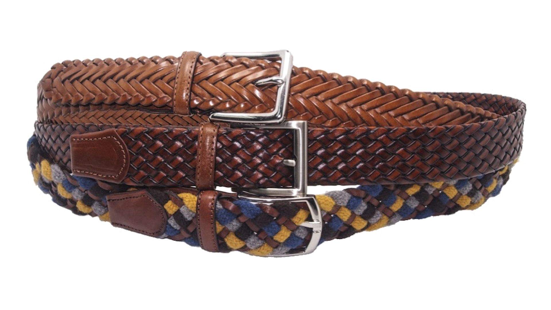 Casual Men's Braided Belts
