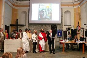 Convegno Medioevo Ivrea San Bernardino Santa Marta Cenacolo Cristo