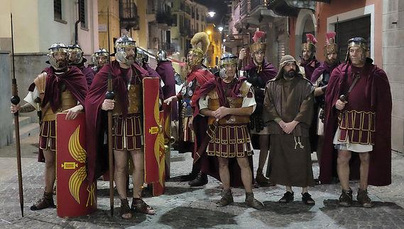 Passione di Cristo di IVREA - Passio Christi di IVREA e Canavese - Sacra Rappresentazione Medievale - Legione  TEBEA