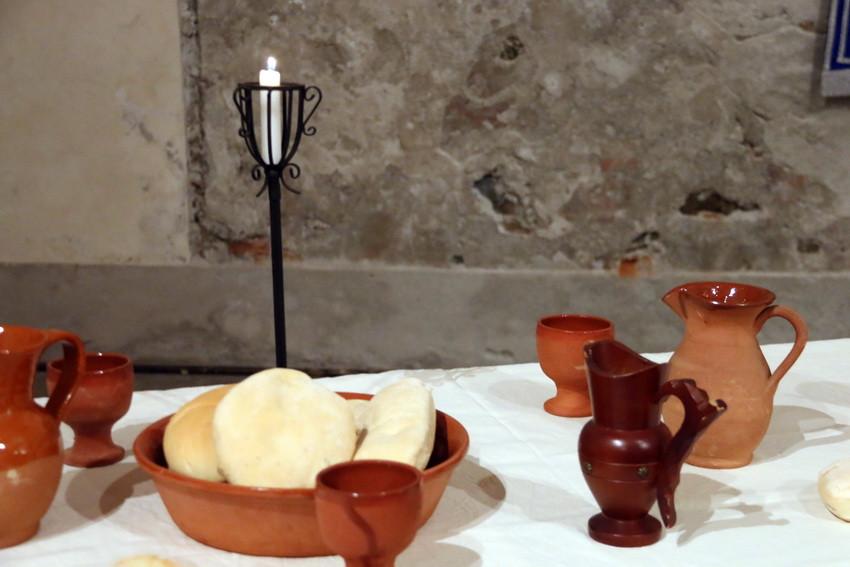 IVREA , Sala Santa Marta - La Passione di Cristo Convegno Storico con allestimento del CEnacolo quadro vivente ultima cena