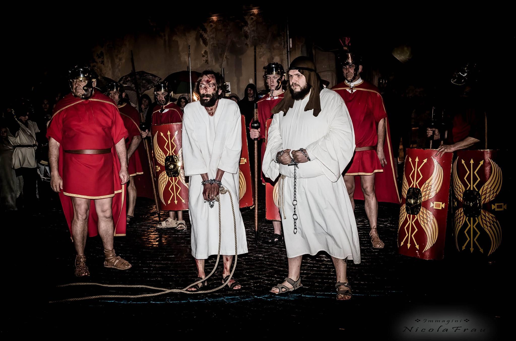 Passione di Cristo Ivrea 2017 - UNESCO - Nicola Frau (Cristo e Barabba)