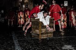 Passione di Cristo Ivrea 2017- UNESCO - Nicola Frau (La Flagellazione)