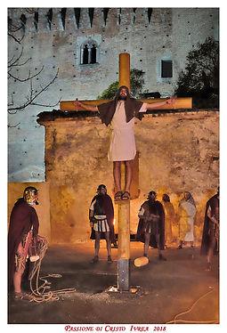 Passione di Cristo di IVREA - Passio Christi di IVREA e Canavese - Sacra Rappresentazione Medievale - Ladrone Cattivo