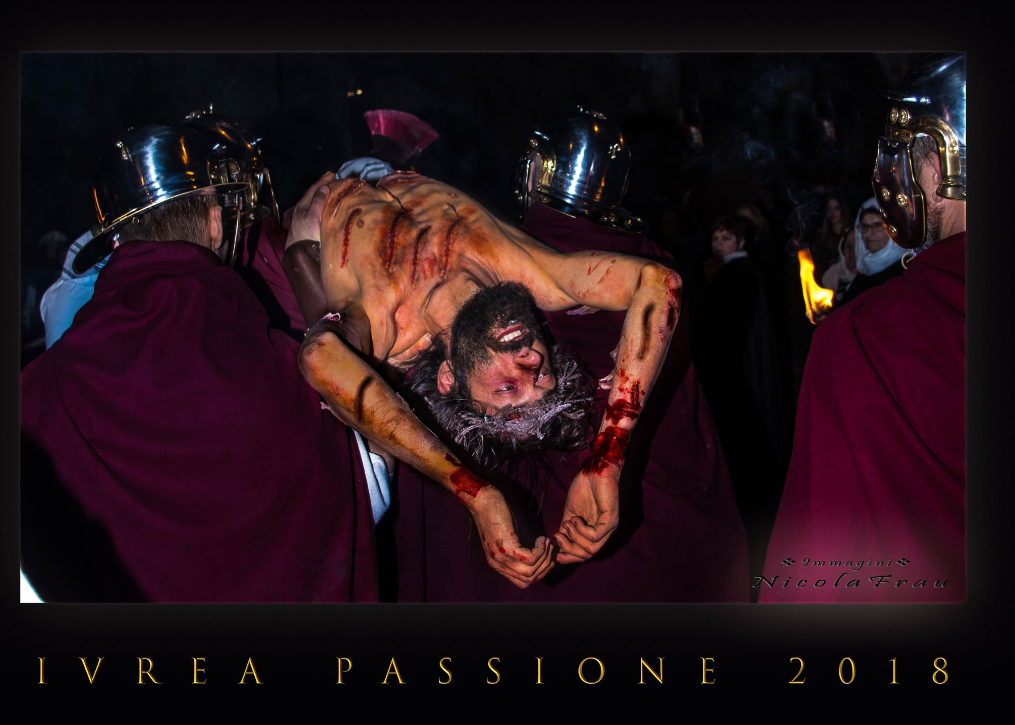 Passione di Cristo Ivrea 2018 - UNESCO - Nicola Frau (Deposizione nel Sepolcro)