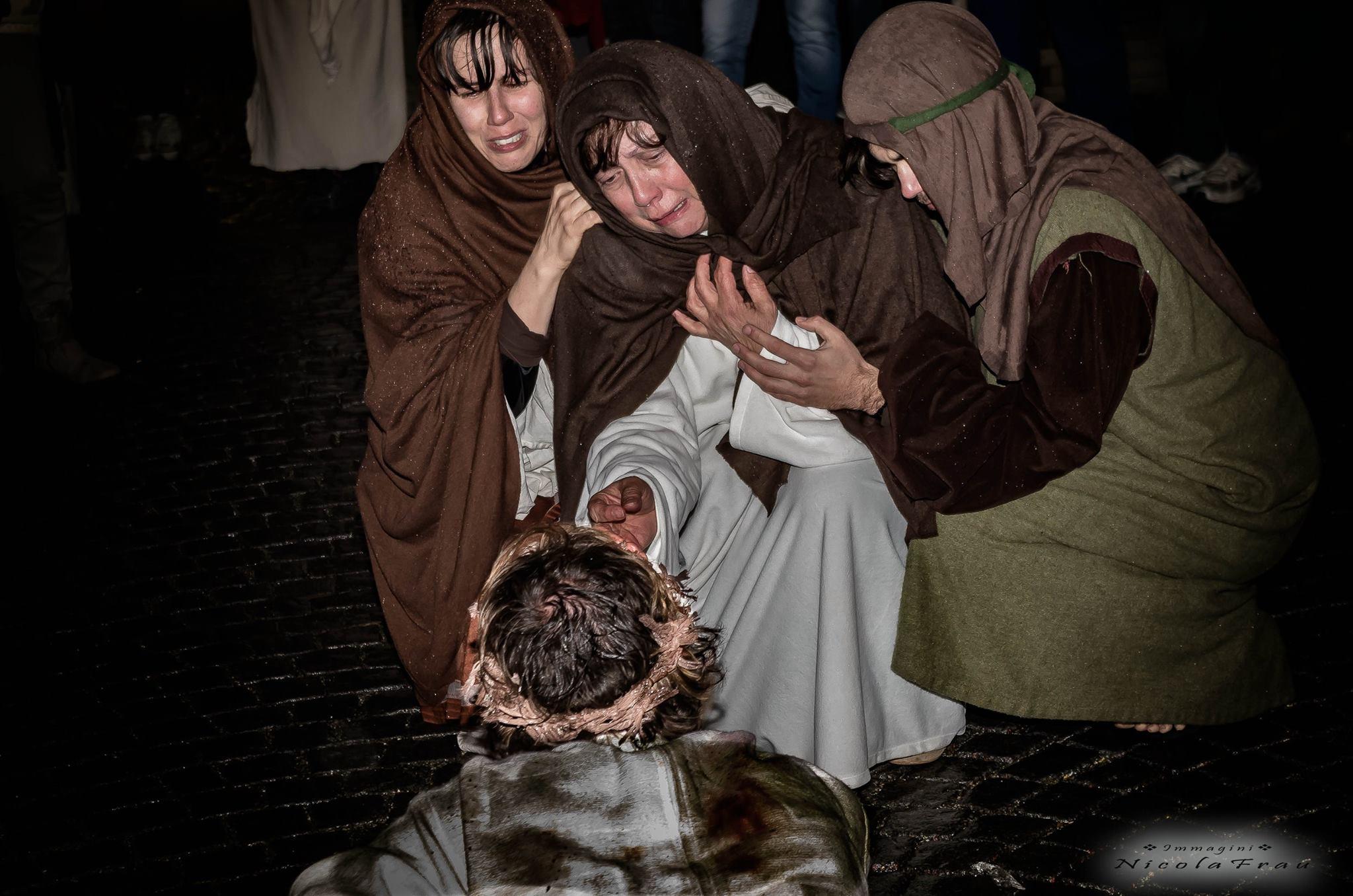 Passione di Cristo Ivrea 2017 - UNESCO - Nicola Frau (Maria Maddalena Giovanni)