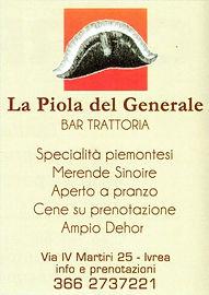 Piola del Generale Carnevale di Ivrea -Paolo Oreglia
