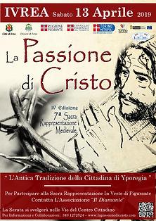 Yporegia Programma Passione di Cristo di Ivrea e Canavese