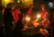 Passione di Cristo IVREA - crocefissione sul golgota monte calvario