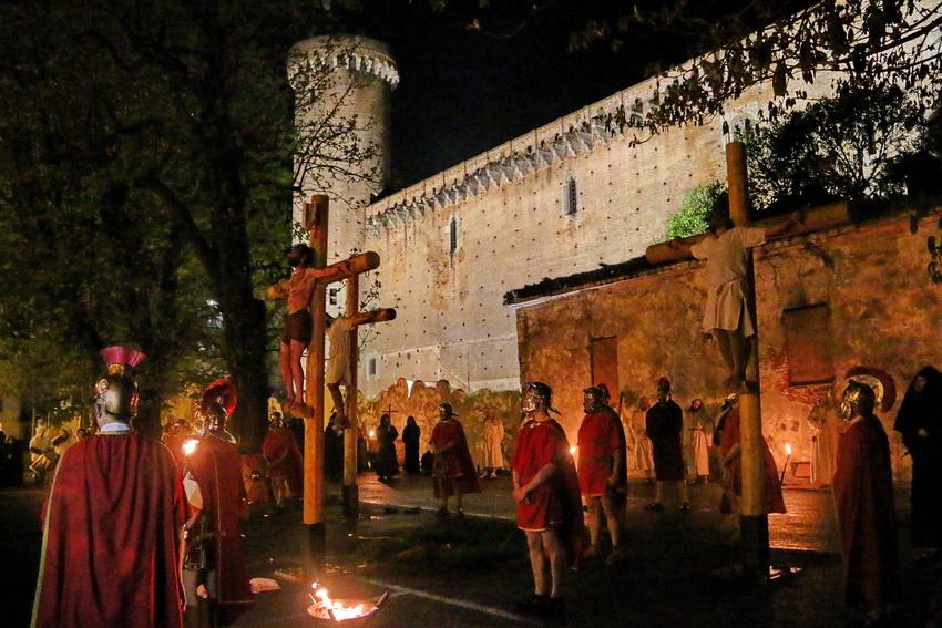 Passione di Cristo Ivrea 2017 - UNESCO - Fulvio Lavarino (Castello Conte Verde)