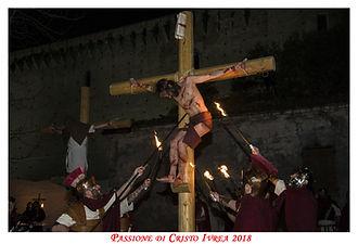 Il Dramma nelle vie del centro storico di Ivrea - la Passione di cristo
