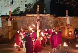 Passione di Cristo IVREA - cristo e i due ladroni croceffissi crocifissi