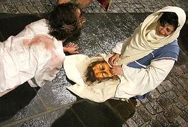 Santa Veronica asciuga il volto Passione di Cristo