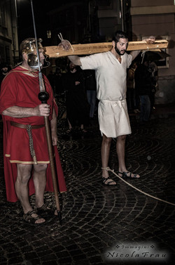 Passione di Cristo Ivrea 2017 - UNESCO - Nicola Frau (il Ladrone Cattivo)
