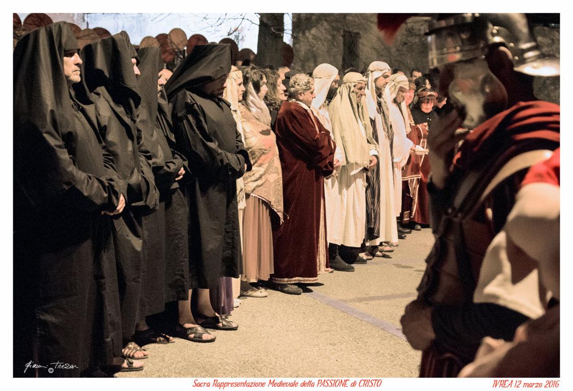 Passione Di Cristo - Ivrea - Gianni Trezar - 2016 -  (Piazza Castello) _LQ