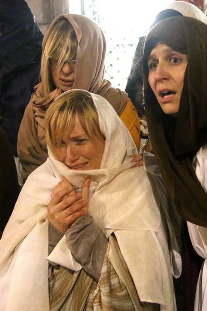 Passione di Cristo Ivrea 2017 - UNESCO - Fulvio Lavarino (Donne Piangenti)