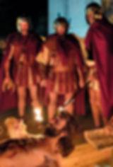 Passione di Cristo IVREA - crocefisso sotto ponzio pilato