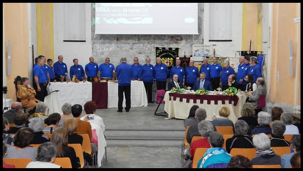 Ivrea - Passione di Cristo  - Santa Marta - Convegno Storico - Coro CAI La Serra - Guido Cossard