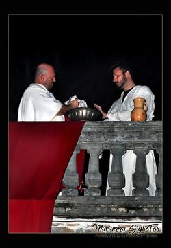 Passione Di Cristo - Ivrea - Marianna Giglio Tos - 2016 (Pilato se ne lava le mani)