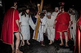 Cristo porta la Croce - Ivrea Passione 2017