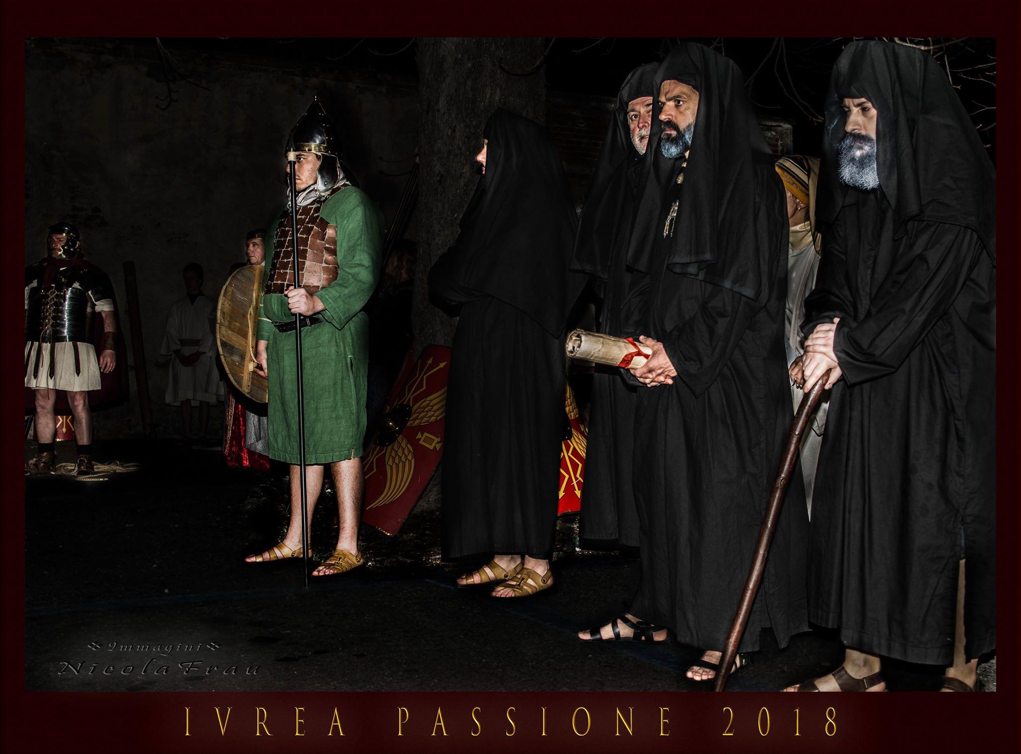 Passione di Cristo Ivrea 2018 - UNESCO - Nicola Frau (Il SInedrio)