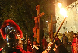 morte in croce Passione di Cristo IVREA - in croce per portare a compimeno le scritture