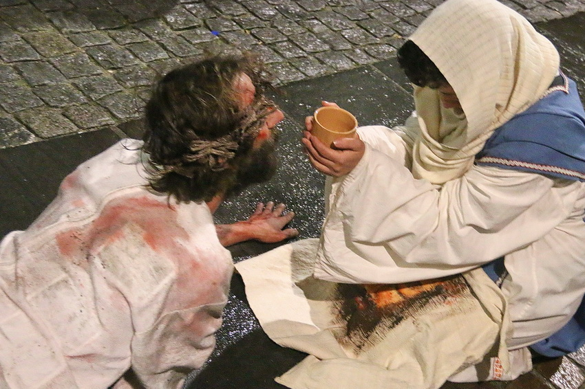 Passione di Cristo Ivrea 2017 - UNESCO - Fulvio Lavarino (Santa Veronica e il Velo)