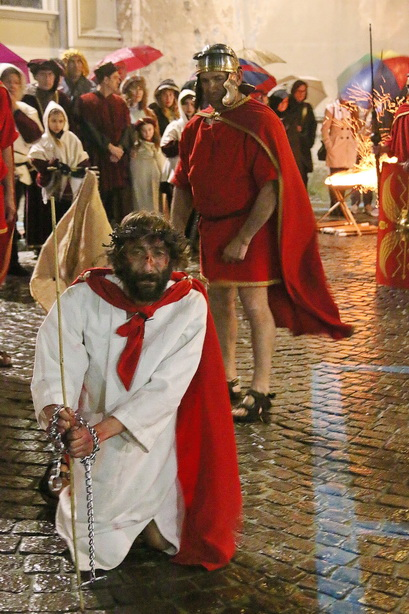 Passione di Cristo Ivrea 2017 - UNESCO - Fulvio Lavarino (Il Re dei GIudei)
