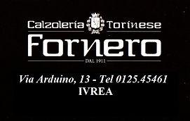 Fornero Calzature IVREA Via Arduino