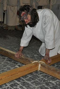 Cristo nella Passione di Ivrea Prima Caduta