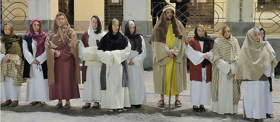 Passione di Cristo di IVREA - Passio Christi di IVREA e Canavese - Sacra Rappresentazione Medievale - Le Pie Donne
