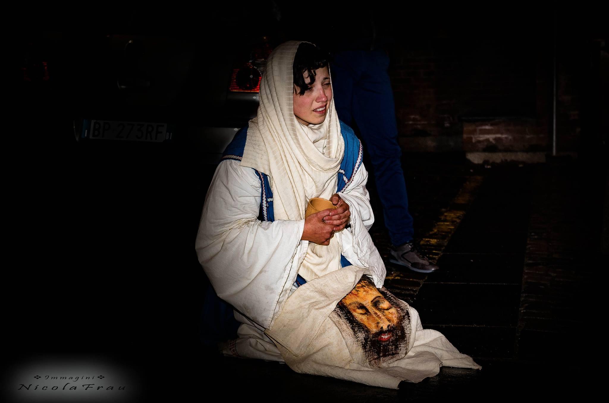 Passione di Cristo Ivrea 2017 - UNESCO - Nicola Frau (Santa Veronica)