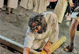 Passione di Cristo caduta di Cristo