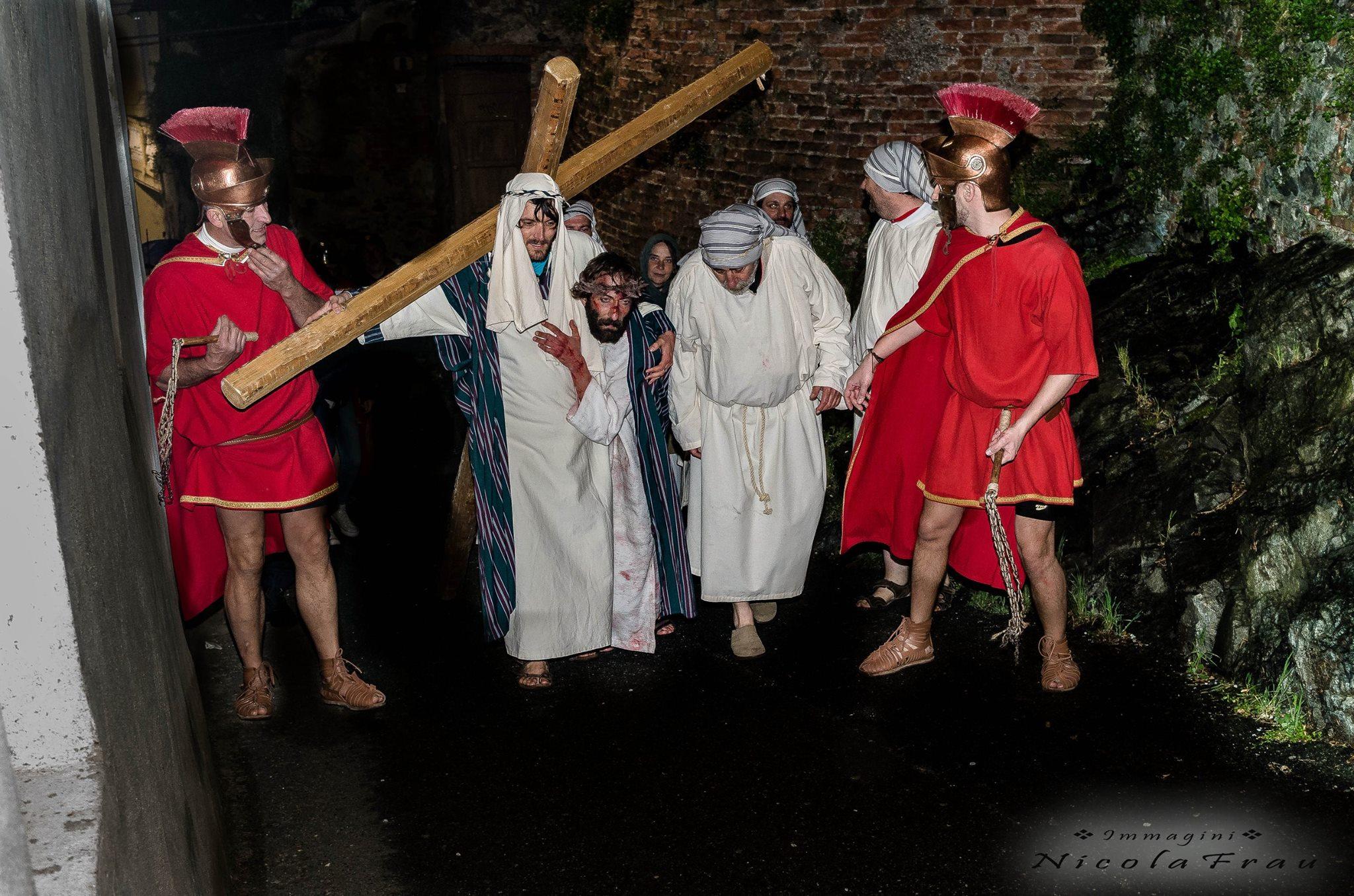 Passione di Cristo Ivrea 2017 - UNESCO - Nicola Frau (il Calvario del Cristo)