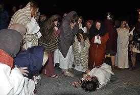 Passione di Cristo IVREA - le donne di Gerusalemme