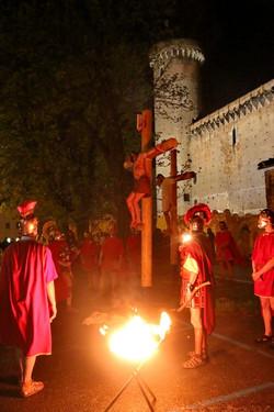 Passione di Cristo Ivrea 2017 - UNESCO - Fulvio Lavarino (Cristo Muore in Croce)