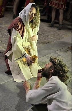 Passione di Cristo di IVREA - Passio Christi di IVREA e Canavese - Sacra Rappresentazione Medievale - Santa Veronica