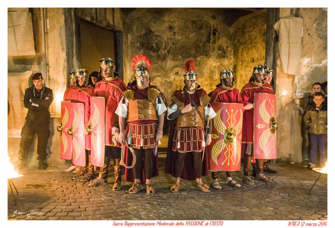 Passione Di Cristo - Ivrea - Gianni Trezar - 2016 -  (i legionari) _LQ