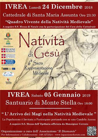 Ivrea Natale Natività del Canavese - Passione di Cristo Davide Mindo Monsignor Cerrato Santuario Monte Stella