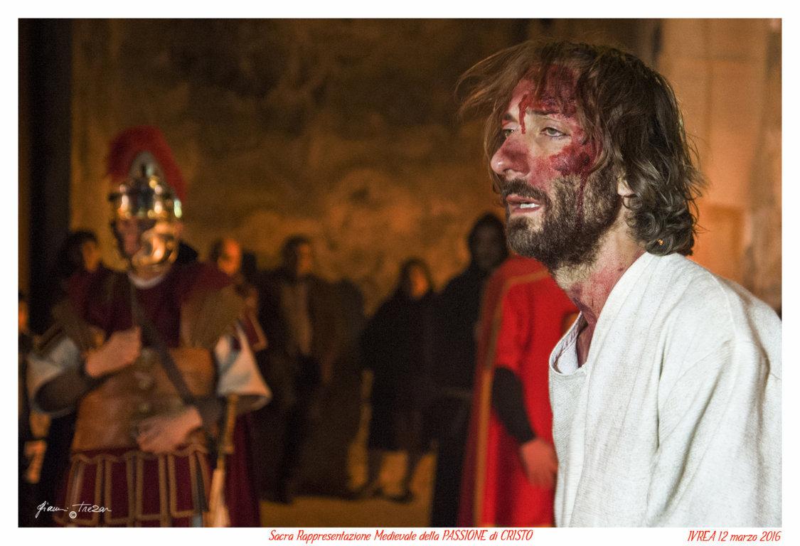 Passione Di Cristo - Ivrea - Gianni Trezar - 2016 -  (Cristo al Cospetto di Pilato) _LQ