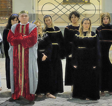Passione di Cristo di IVREA - Passio Christi di IVREA e Canavese - Sacra Rappresentazione Medievale - Donne di ERODE