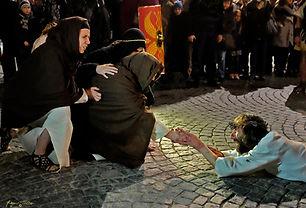 Maria e Cristo nlla Passione di Ivrea