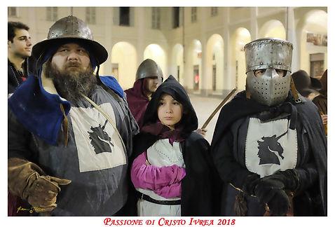Compagnia dell'Unicorno alla Passione di Ivrea