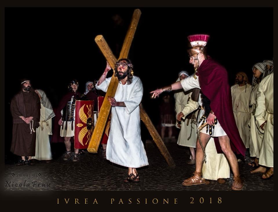 Passione di Cristo Ivrea 2018 - UNESCO - Nicola Frau (Il Calvario di Cristo)